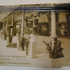 Postales: ANTIGUA TARJETA POSTAL EXPOSICION HISPANO FRANCESA Nª 26 INSTALACIONES AYUNTAMIENTO BARCELON (19). Lote 182224851