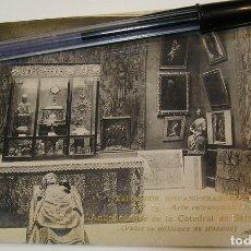 Postales: ANTIGUA TARJETA POSTAL EXPOSICION HISPANO FRANCESA Nª 15 CATEDRAL SALAMANCA (19). Lote 182225380