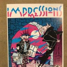 Postales: IMPRESSIONS (BARCELONA) POR MAX. POSTAL SIN CIRCULAR PROMOCIONAL DE 1984.. Lote 182997110