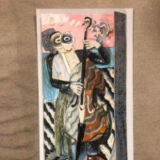Postales: ANDRÉS NAGEL, ARCO '90. TARJETA PROMOCIONAL DEL ARTISTA EN LA FERIA ARCO DE 1990.. Lote 183006891