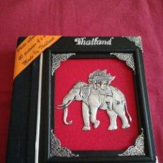 Postales: ÁLBUM DE THAILAND ELEFANTE. Lote 183062951