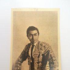 Postales: TORERO RAFAEL ALBAICIN, ANTIGUA Y RARA POSTAL J.H.TOROS. Lote 183094758