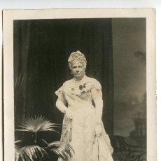 Postales: LA INFANTA ISABEL DE BORBÓN, LA CHATA, FOTÓGRAFO FRANZEN, POSTAL FOTOGRÁFICA. Lote 183174326