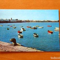 Postales: POSTAL AÑOS 70 - VISTA PANORÁMICA, MUELLE PESQUERO -ROTA, CÁDIZ - FOTOCOLOR VALDIVIESO -SIN CIRCULAR. Lote 183363105