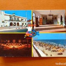 Postales: POSTAL AÑOS 70 - FERIA Y PLAYAS DE ROTA, CÁDIZ - POSTALES SAN-PI, Nº 1 -SIN CIRCULAR. Lote 183363290