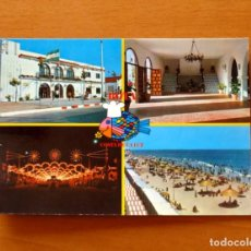 Postales: POSTAL AÑOS 70 - FERIA Y PLAYAS DE ROTA, CÁDIZ - POSTALES SAN-PI, Nº 1 -SIN CIRCULAR. Lote 183363310