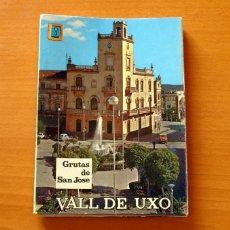 Postales: 19 POSTALES EN FORMA DE ACORDEÓN-GRUTAS DE SAN JOSÉ, VALL DE UXÓ, CASTELLÓN -EDICIONES EXCMO. AYUNT.. Lote 183368630