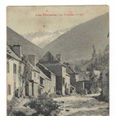 Postales: LOS PIRINEOS / 90 VALLE DE ARAN - EL RÍO NÉGRO A VIELLA (L'UNE DES BRANCHES DE LA GARONNE, PRÈS D.... Lote 183480857