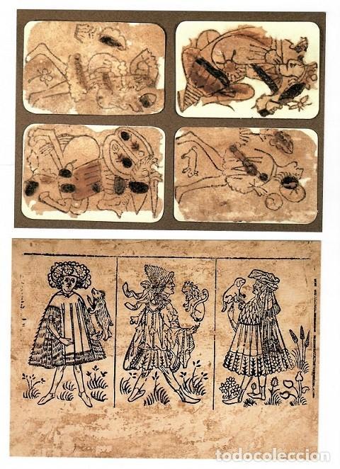 Postales: 15 Postales Museo Fournier de naipes de Alava - 1993 / Estuche - Foto 5 - 183483425