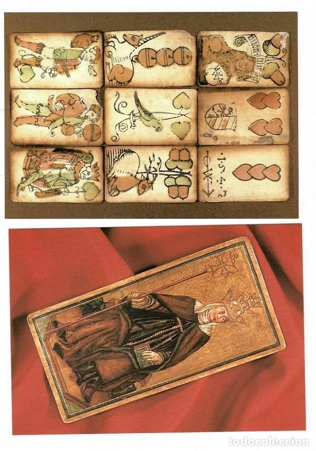 Postales: 15 Postales Museo Fournier de naipes de Alava - 1993 / Estuche - Foto 7 - 183483425