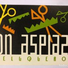 Postales: JON ASPIAZU PELUQUEROS (BILBAO). POSTAL SIN CIRCULAR PROMOCIONAL DE LOS AÑOS 80.. Lote 183749162
