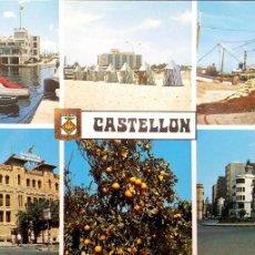 Postales: CASTELLÓN. 117 DIVERSOS ASPECTOS. ESCUDO DE ORO. NUEVA. COLOR. Lote 183793626