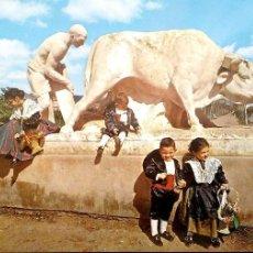 Postales: CASTELLÓN. 30 MONUMENTO A PEROT DE GRAYANA. ESCUDO DE ORO. NUEVA. COLOR. Lote 183793633