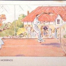 Postales: DEPORTES MODERNOS: TENIS. NUEVA. COLOR. Lote 183793636