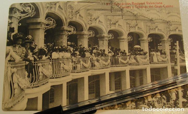 Postales: LOTE 20 ANTIGUAS TARJETA POSTAL EXPOSICION REGIONAL VALENCIANA FOTOS TODAS POSTALES (19) - Foto 2 - 183959092