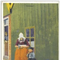 Cartes Postales: == N555 - BONITA POSTAL - SEÑORA CON NIÑOS. Lote 184016066