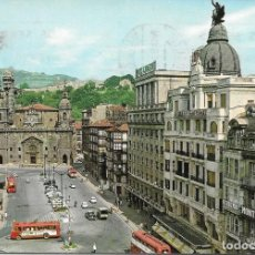 Postales: POSTAL ANTIGUA BILBAO ARENAL E IGLESIA DE SAN NICOLÁS 35. Lote 184401097