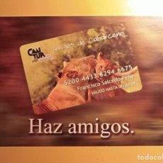Postales: POSTALES - FAUNA - CANTABRIA - AMIGOS DE CABÁRCENO. Lote 185252641
