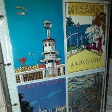 Postales: MAGNIFICO GRAN LOTE 280 ANTIGUAS POSTALES BARCELONA MONTSERRAT ISLA MADERA ENTRE OTROS ESPAÑA. Lote 186145042
