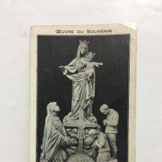 Postales: POSTAL. N. D. DES HAUTS DE MEUSE. FOTÓGRAFO?. H. 1940?.. Lote 187438982