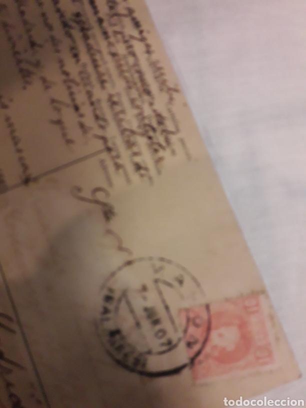 Postales: Postal circulada de 1907 - Foto 2 - 188602505