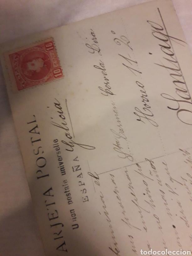 Postales: Postal circulada de 1908 - Foto 2 - 188602561