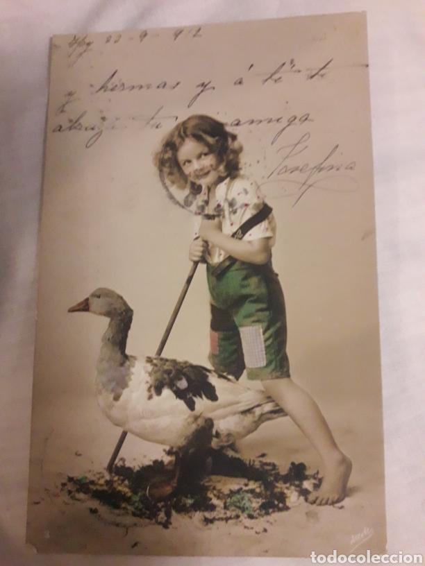 POSTAL CIRCULADA DE 1912 (Postales - Varios)
