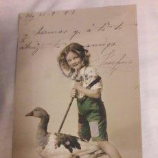 Postales: POSTAL CIRCULADA DE 1912. Lote 188602608