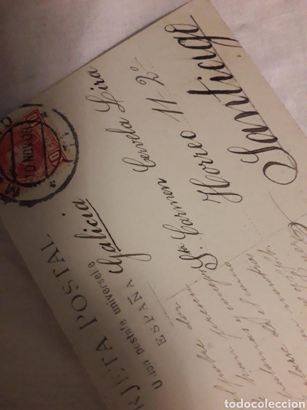 Postales: Postal circulada de 1908 - Foto 2 - 188602851