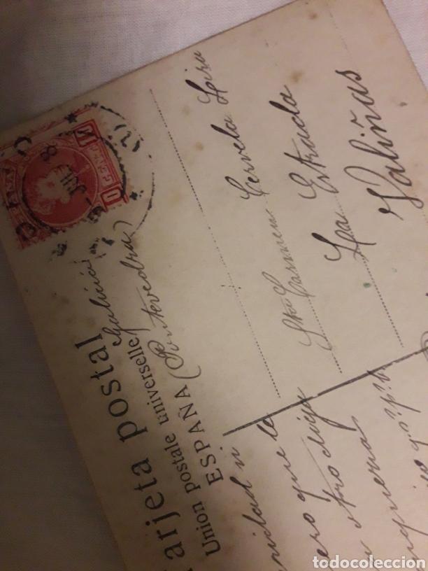 Postales: Postal circulada de 1908 - Foto 2 - 188603020