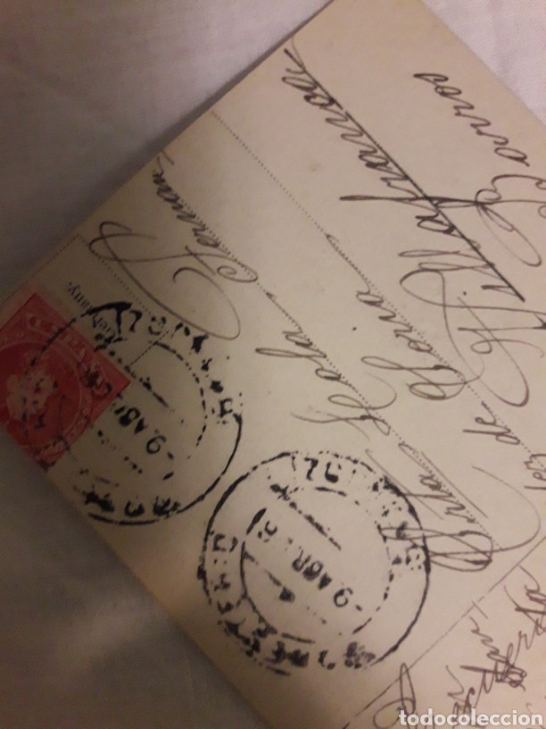Postales: Postal circulada de 1908 - Foto 2 - 188603138