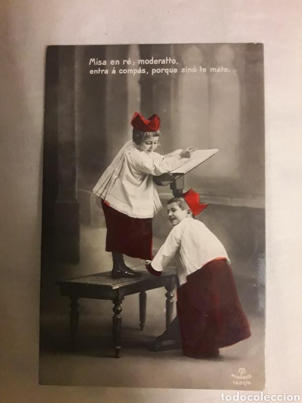 POSTAL CIRCULADA DE 1908 (Postales - Varios)