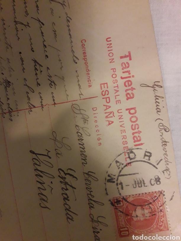 Postales: Postal circulada de 1908 - Foto 2 - 188603630
