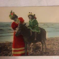 Postales: POSTAL CIRCULADA DE 1908. Lote 188603933