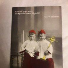 Postales: POSTAL CIRCULADA DE 1908. Lote 188604148