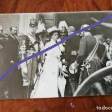 Postales: ANTIGUA POSTAL. FERNANDO DE BAVIERA Y TERESA DE BORBÓN. BODA. 1906.. Lote 137517798