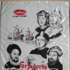 Postales: POSTALES FORJADORES DEL NUEVO MUNDO CUETARA. Lote 190312642