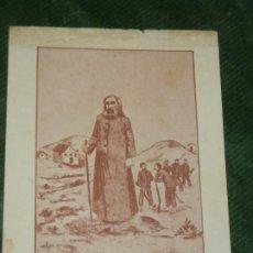 Postales: ANTIGUA ESTAMPA O FANATICO ANTONIO CONSELHEIRO (ANTONIO VICENTE MENDES MACIEL). Lote 190611828