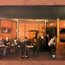 Postales: LA GENERACIÓN DEL 98. POSTAL SIN CIRCULAR DEL MUSEO DE CERA COLÓN DE MADRID.. Lote 190783672