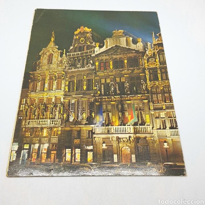 (CEP.04) TARJETA POSTAL CIRCULADA. N°6/126. BRUXELLES. (Postales - Varios)