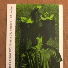 Postales: YOKO LENNON'S (BILBAO, PRIMEROS 80). POSTAL INVITACIÓN A FIESTA DE MODA.. Lote 191121418