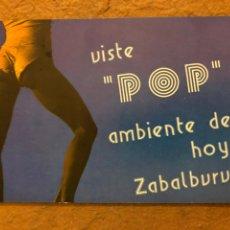 Postales: YOKO LENNON'S (BILBAO). POSTAL INVITACIÓN FIESTA POP, CIRCULADA EN 1983.. Lote 191123766