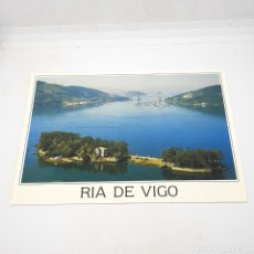 Postales: (CEP.05) TARJETA POSTAL SIN CIRCULAR. N°3054 RIA DE VIGO. ISLA DE SAN SIMON Y PUENTE DE RANDE. Lote 191176547