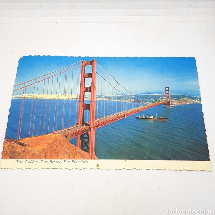 (CEP.05) TARJETA POSTAL CIRCULADA. THE GOLDEN GATE BRIDGE. SAN FRANCISCO (Postales - Varios)
