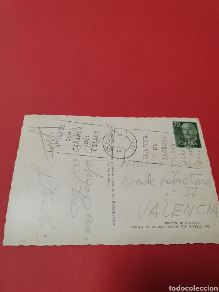 Postales: Valle de Aran.Panorama de Salardu.Circulada. - Foto 2 - 191474965