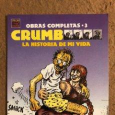 "Postais: CRUMB ""LA HISTORIA DE MI VIDA"" OBRAS COMPLETAS - 3. POSTAL SIN CIRCULAR VIBORA COMIX. Lote 191943036"