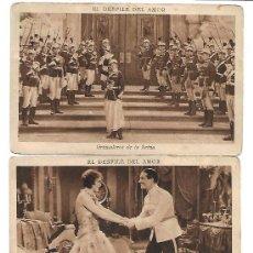 Postales: EL DESFILE DEL AMOR - CINCO POSTALES. Lote 192566741