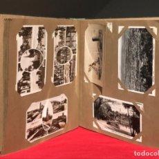 Postales: ANTIGUO ALBUM DE VIAJE POSTALES ANTIGUAS DEL MUNDO NUEVA YORK EUROPA AFRICA CIRCULADAS VER FOTOS. Lote 193081196