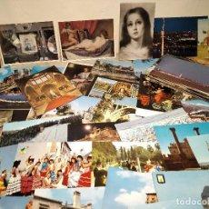 Postales: LOTE 100 POSTALES VARIADAS DEL MUNDO, ARTE, ARQUITECTURA, PINTURA... (REF: 1400) . Lote 193085832