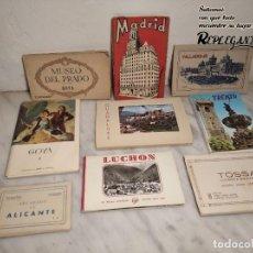 Postales: LOTE 111 POSTALES MUSEO DEL PRADO, CIUDADES, GOYA, MADRID... EN ESTUCHES (R: 2000) ESPAÑA VINTAGE. Lote 193245082